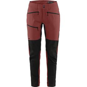 Haglöfs Rugged Flex Pants Dame Maroon Red/True Black